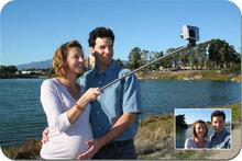 carbon fiber Material and Digital Camera Use extendable self portrait selfie stick for smartphone,camera