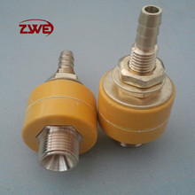 Yellow Color Anode &Cathode Welding Cable Connector S17*75