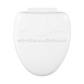 sanitarias de plástico de cierre suave asiento del inodoro de la bisagra parte