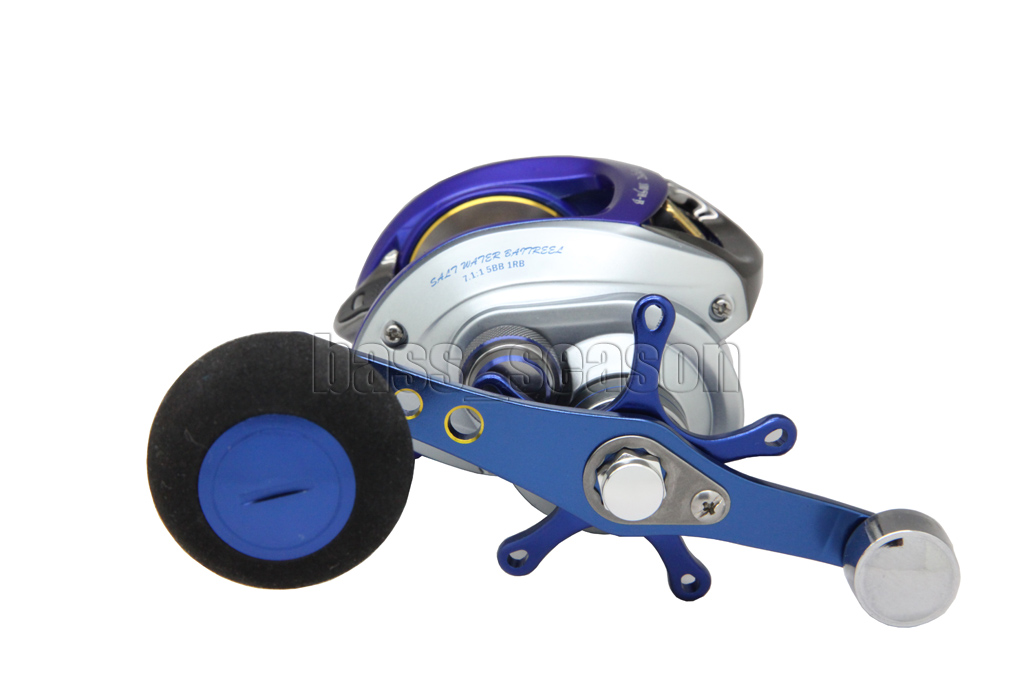 korea blue 6bb 7:1 baitcasting reel fishing reel casting reels, Fishing Reels