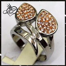 Wholesale Classic White crystal Women Ring