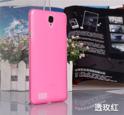 Stylish design four colours available tpu Back Cover case for TCL M2M smartphone