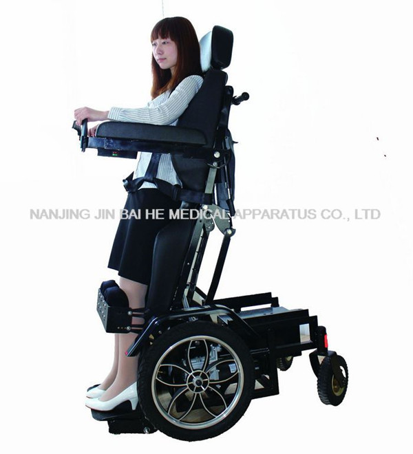 Luxury Electric Standing Wheelchair Z01 View Standing