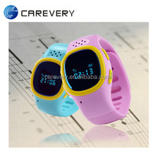 Mini kids smart watch gps tracking device for kids/ gps positioning and monitoring smart watch for children