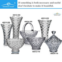 clear modern round cheap glass cross large flower vases