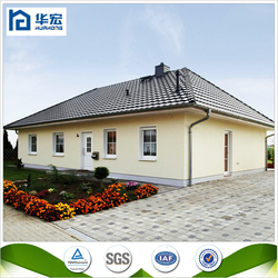 Smart design high quality fast build cement panel beautiful house model