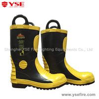 Boots for oil field/firemen fighting footwear