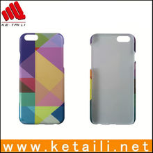 Case for iphone6 ,4.7 inch Pattern Protective PC Plastic Case for Iphone 6,oem is welcome