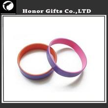 Promotional Item ! Stripe Silicone Wristband/Bracelet/Wrist Band Available Silicone Band