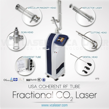 fractional CO2 laser surgical laser with medical ce for scar removal