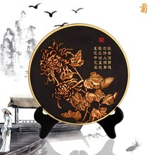 Household creative arts and crafts activated carbon carving sitting room decoration new commemorative gifts in the gift