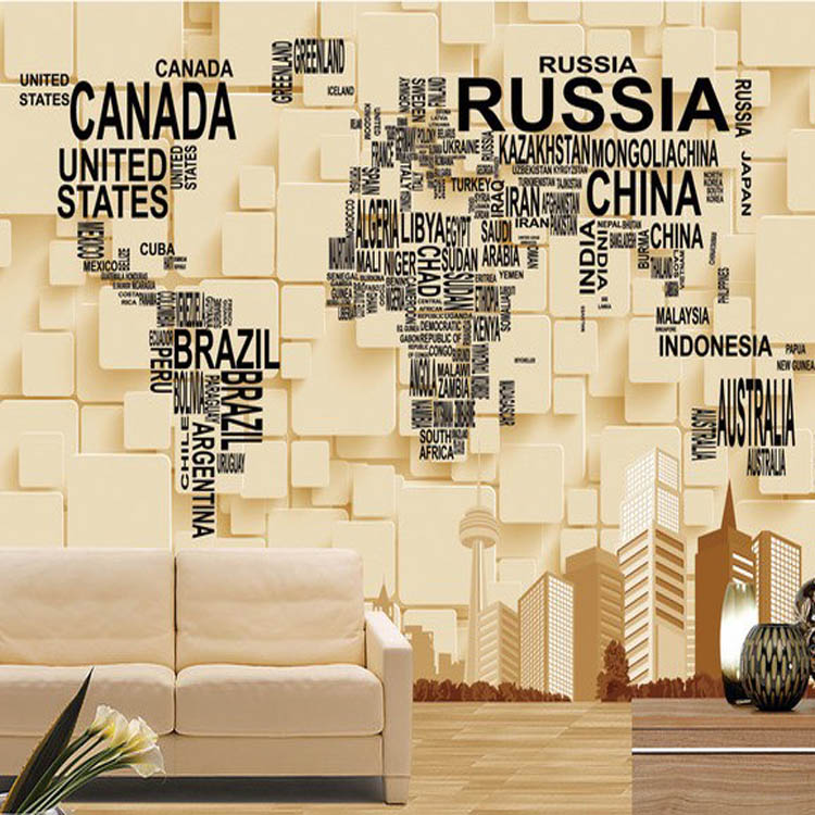 No pollution hot seller vinyl wallpaper world map magic color for 13590176 12403028 11826123 13608617 gumiabroncs Image collections