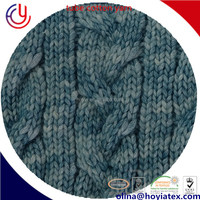 wool blended hand yarn winter fall 42 worsted wool 58 natural ice cotton fiber knitting yarn hand kniting yarn