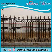 Valla de balcón de hierro metal precios valla puerta valla de seguridad del jardín