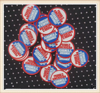 """15 Proud to be American Theme 1"""" Precut Bottle Cap Images Sealed w Epoxy Sticker"""
