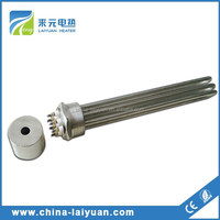 High Quality Stainless Steel Flange Oil Immersion Heater