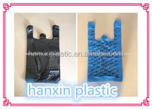 heat seal plastic bags t-shirt bag plastic for shopping