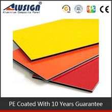 Alusign be highly praised aluminum coated plastic