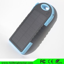 shockproof waterproof 500mah solar cell usb multi chargers for cellphone
