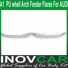 A1 sport style PU front spolitter , car body kits For AUDI whell Arch Fender Flares