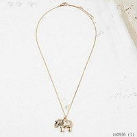 Fashion Designer Jewelry Replica Elephant Pendant Costume Body Necklace