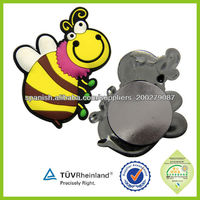 Cheap custom good quality cute 3D soft pvc fridge magnet