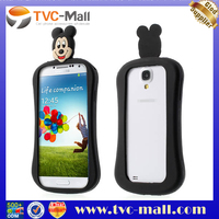 TVC Mall High Quality Silicone Bumper Animal Design For Samsung Galaxy S4 Case