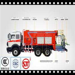 RF-100A road slurry sealing machinery / asphalt slurry sealer made in China
