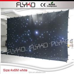 Starry Sky Cloth led star backdrop wedding cloth