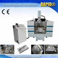 Steady Structure Mini Desktop Metal CNC Milling Machine with Servo