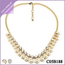 colgantes para mujeres de Europa de moda colgante de perla