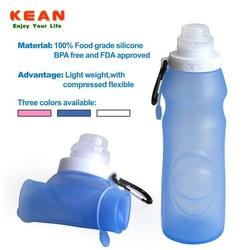 Collapsible Water Bottle With Carrier Set