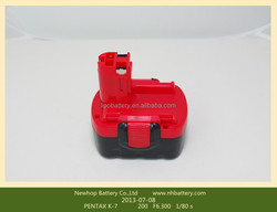 Ni-MH replacement bosch battery 14.4v 3ah for GSB 14.4 VE-2