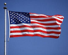 Livraison rapide gros 90 x 150 cm drapeau National américain, ' X5' étoiles et barres US drapeau