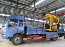 Xyc-3 de agua de perforación de pozos rig montado en carro de plataforma de perforación
