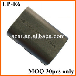 Hot selling LP-E6 LPE6 battery for canon 5D Mark III camera