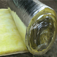 Glass wool 50mm thick roof insulation