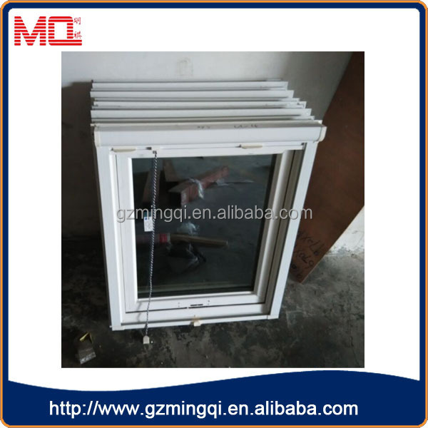 Upvc cheap double glass designs casement window material for Cheap double glazing