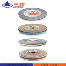 Abrasive flap wheel sander