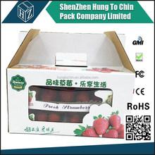 Shenzhen supplier factory OEM promotion sales wholesale fruit carton box apples