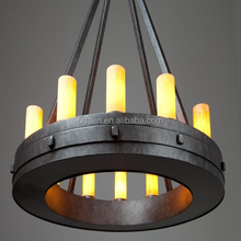 American style rustic vintage industrial style pendant light