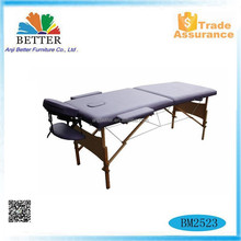 Better 2015 portable wood massage bed for sale, massage bed pad