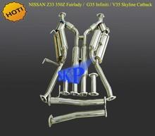 Catback System For N*ISSAN Z33 350Z Fairlady / G35 Infiniti / V35 Skyline