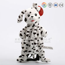New design dog shaped baby cute plush pajama bag &plsuh stuffed toy dog bag