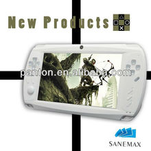"7"" HD 8GB Android smart handheld game console 3D game touch game"