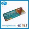 Alibaba China supplier CMYK printing metal children pencil case pen box pencil tin cases