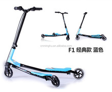 CE approved scooter accessory with 125mm wheel and heigh adjustable for hot sale