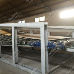 Steady performance gypsum board line