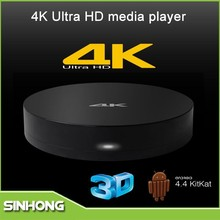 New Products 2015 Amlogic S812 Quad Core 3D Movies Android 4.4 TV Box