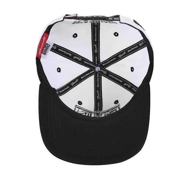 new arrival blank raised embroidery snapback hat